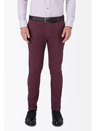 Slim Fit Dar Paça Pantolon-Hemington